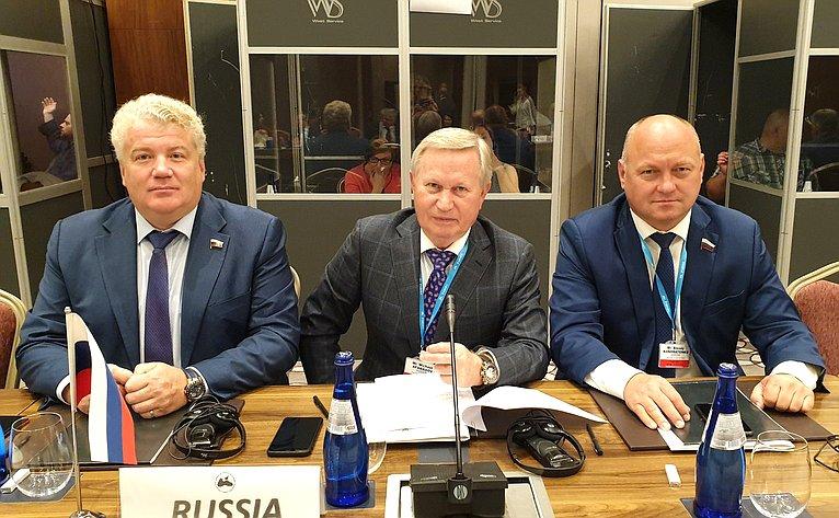 Делегация СФ назаседании Комитета Парламентской Ассамблеи Черноморского экономического сотрудничества (ПАЧЭС)