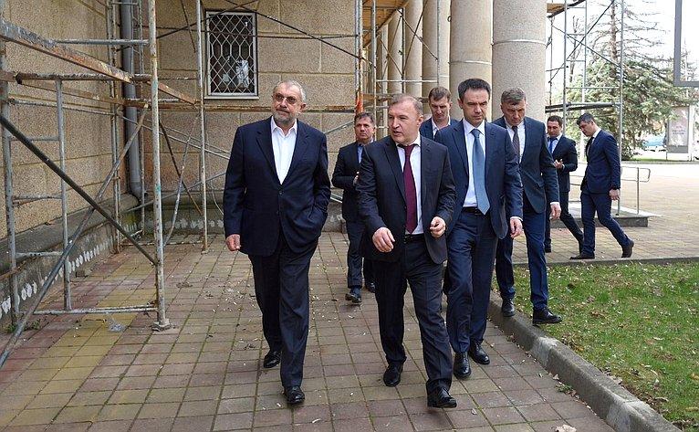 Мурат Хапсироков посетил возводимые объекты вРеспублике Адыгея