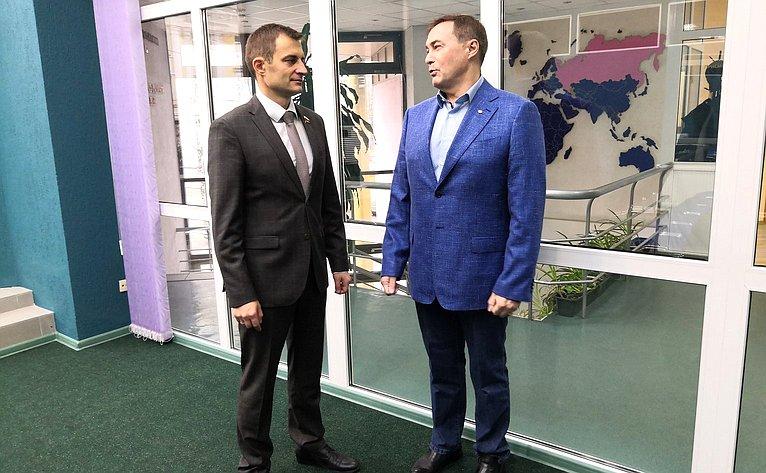 Дмитрий Шатохин провел встречу спрезидентом Торгово-промышленной палаты (ТПП) Республики Коми Юрием Колмаковым