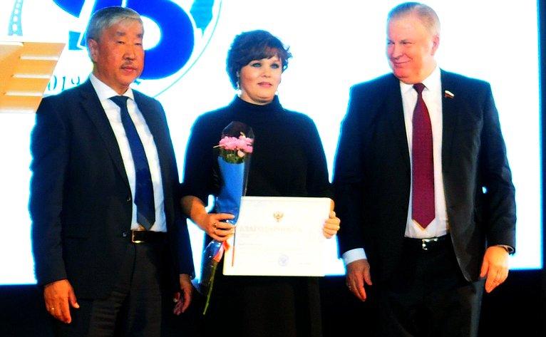 Вячеслав Наговицын принял участие вторжестве, посвященном профессиональному празднику дорожников июбилею дорожной отрасли Бурятии