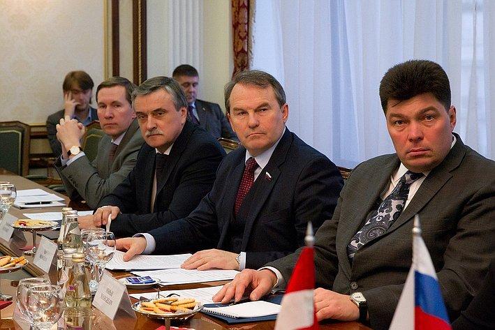 Встреча делегации Совета Федерации  с Президентом Федерального совета Австрийской Республики Райнхардом Тодтом