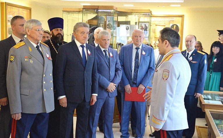 Сергей Лукин посетил мероприятие, посвящённое 300-летию образования российской полиции