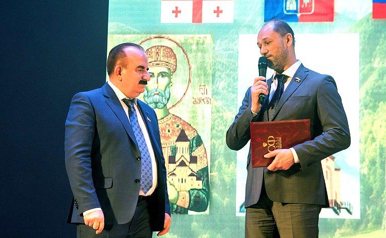 Бесарион Месхи иВладимир Лакунин