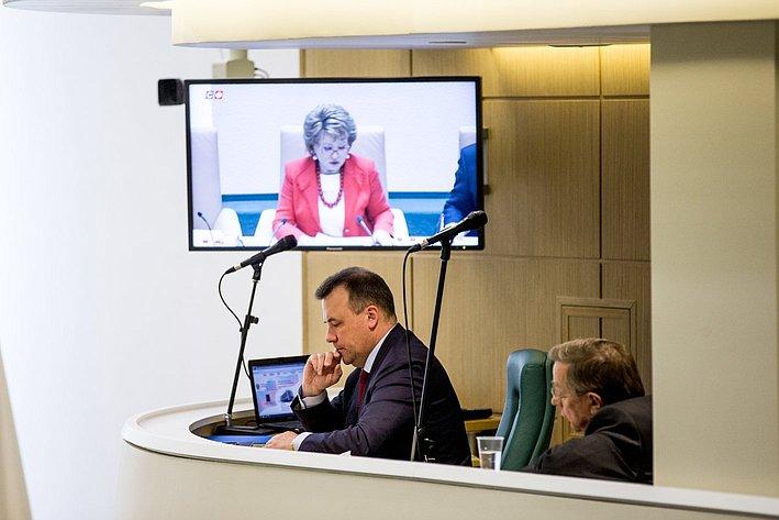 353 заседание СФ Муравьев