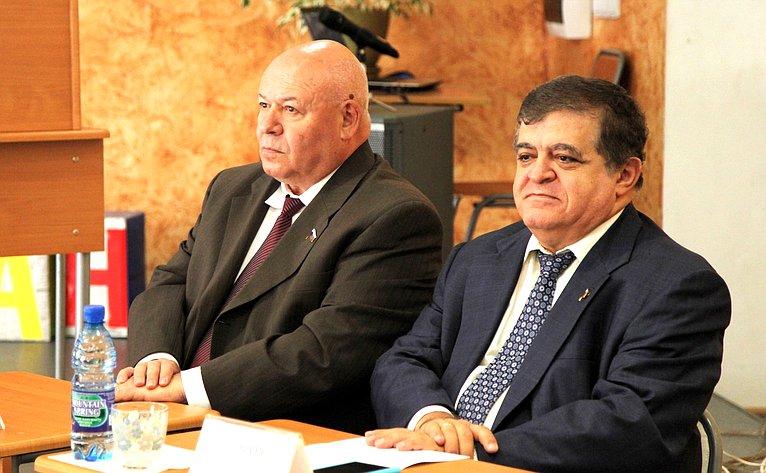 Владимир Джабаров побывал намолодежных парламентских слушаниях
