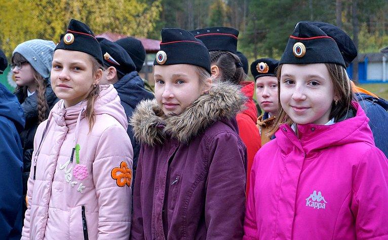Участники слета «Юнармия Коми— 2019»