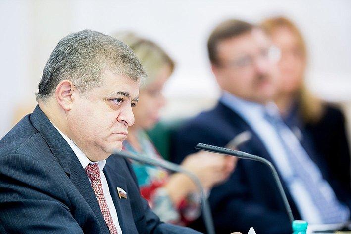 В. Джабаров Заседание Организационного комитета Евразийского женского форума