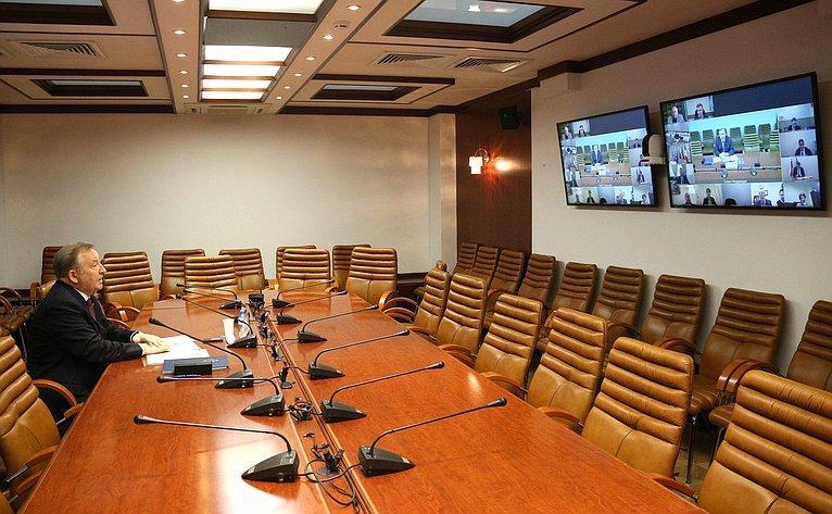 «Круглый стол» Комитета СФ поконституционному законодательству игосударственному строительству совместно сКомитетом СФ поРегламенту иорганизации парламентской деятельности