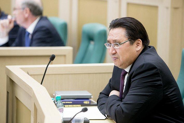 379-е заседание Совета Федерации Акимов