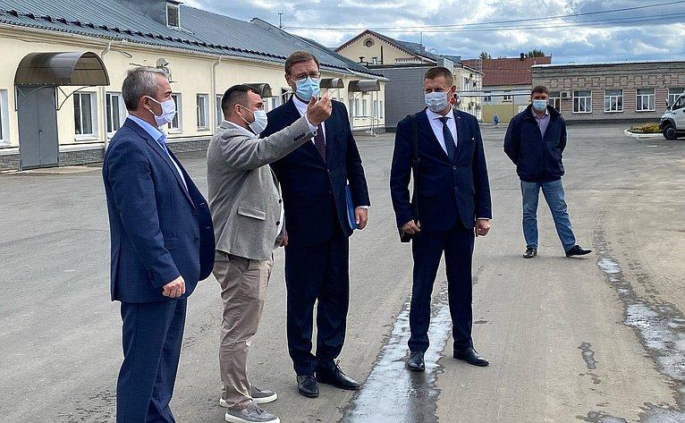 Константин Косачев входе работы врегионе посетил крупнейшее мясоперерабатывающее предприятие Республики Марий Эл