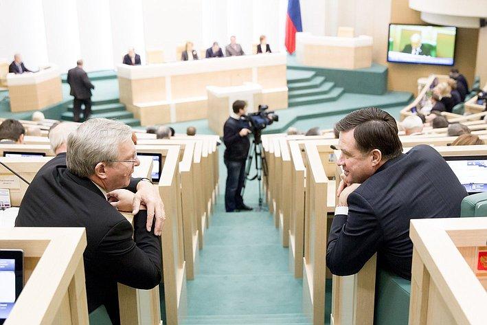 361-е заседание Рябухин и Савинов