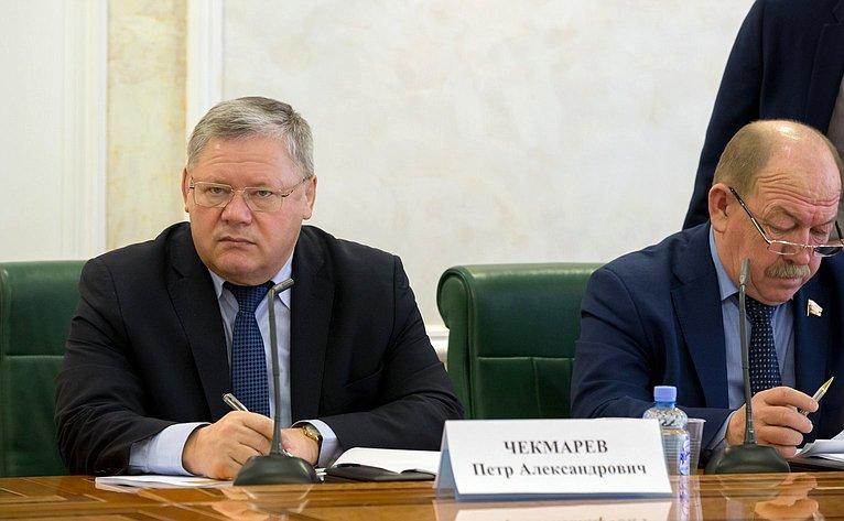 П. Чекмарев иГ. Орденов