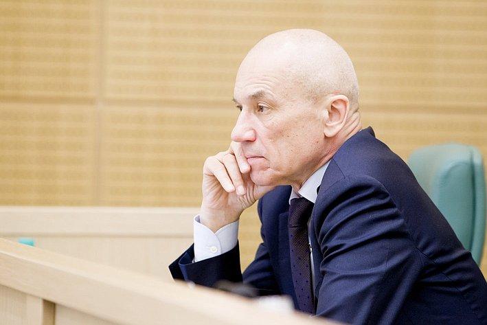 Кушнарь 371-е заседание Совета Федерации