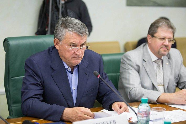 Ю. Воробьев Заседание Комитета общественной поддержки жителей Юго-Востока Украины