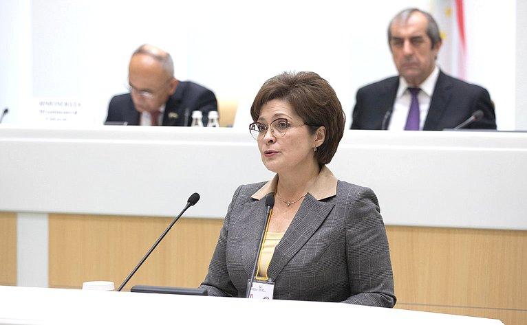 Пленарное заседание VI Межпарламентского форума Россия– Таджикистан