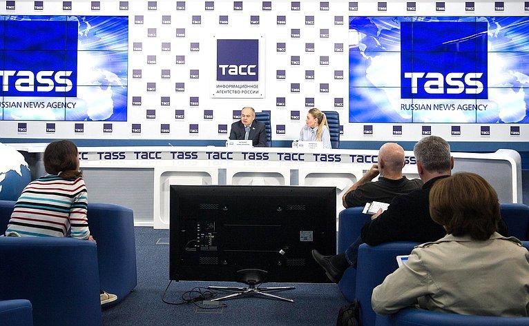 Ильяс Умаханов принял участие впресс-конференции, посвященной предстоящей 137-й Ассамблее Межпарламентского союза