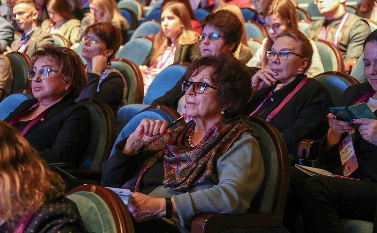 Тематическая секция «Женщины вреализации национального проекта «Здравоохранение» врамках форума «Здоровье женщин– благополучие нации»