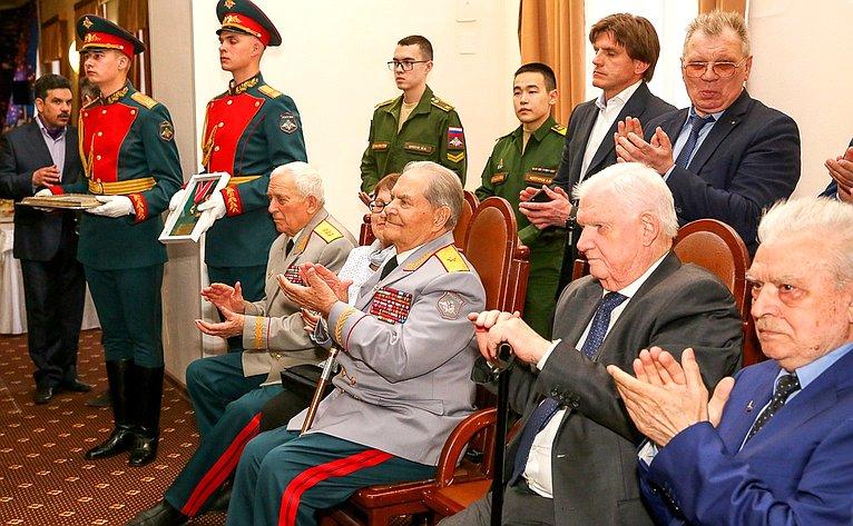 Торжественное мероприятие чествования 100-летнего юбилея ветерана Великой Отечественной войны В. Зибарева