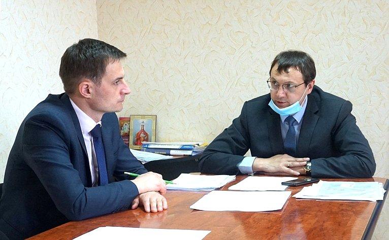 Дмитрий Щатохин провел встречи сучастием глав муниципальных образований