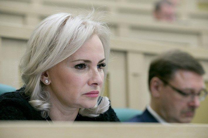 О. Ковитиди на385-м заседании Совета Федерации