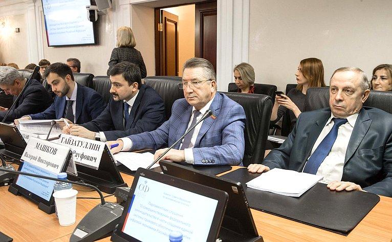 Парламентские слушания Комитета СФ поэкономической политике