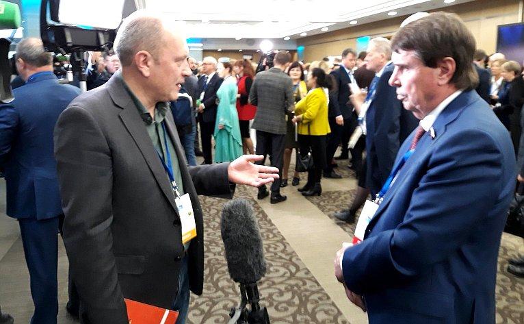 Сергей Цеков принял участие вVI Всемирном конгрессе российских соотечественников