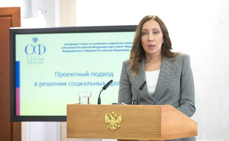 Заседание Совета поразвитию социальных инноваций субъектов натему «Проектный подход врешении социальных проблем»