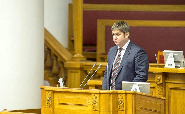 Выступление статс-секретаря— заместителя Министра экономического развития Российской Федерации Олега Фомичева