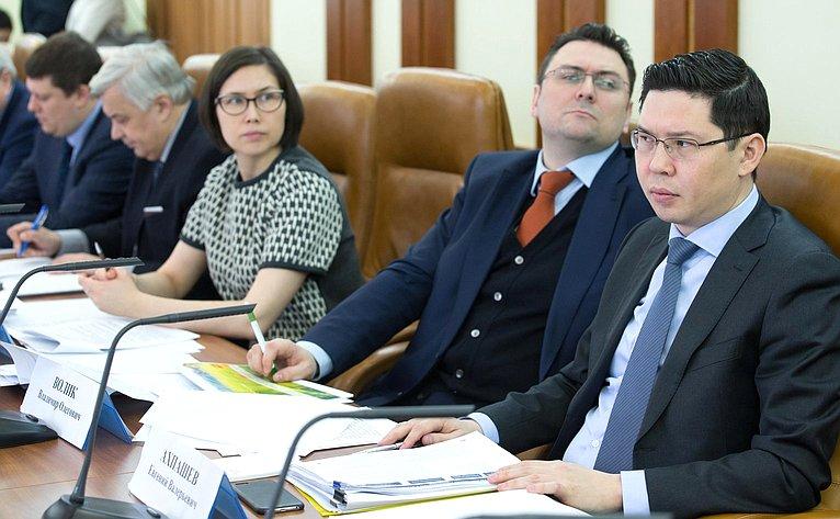 С. лисовский провел совещание «опрогнозном балансе ресурсов ииспользования зерна врф»