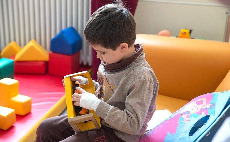 Председатель Совета Федерации посетила Национальный научно-практический центр детской гематологии, онкологии ииммунологии имени Д. Рогачева