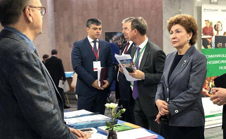 Галина Карелова выступила наоткрытии III Международного медицинского инвестиционного форума