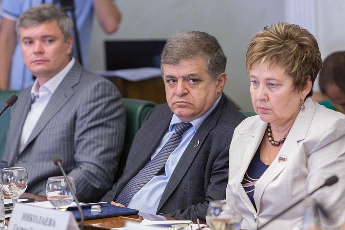 Заседание Комитета поддержки беженцам юго-Востока Украины-4