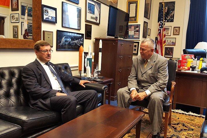 К. Косачев провел ряд встреч в Конгрессе США