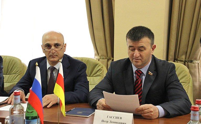 Первый заместитель Председателя Парламента Республики Южная Осетия Петр Гассиев