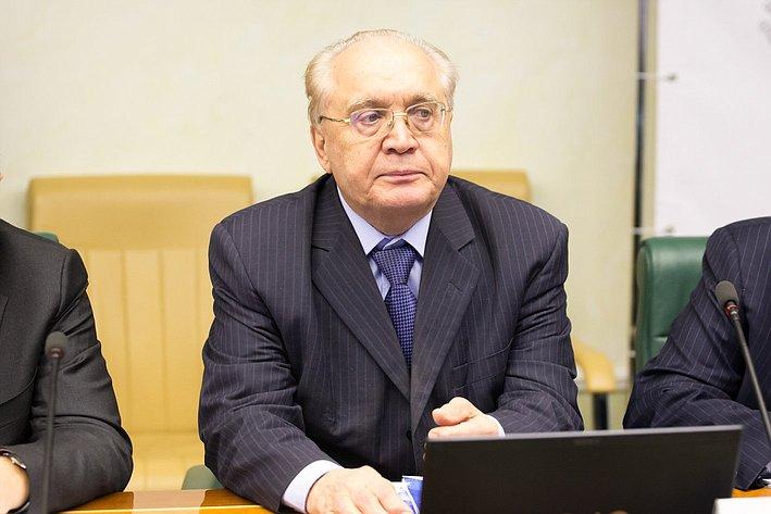 В. Садовничий Заседание Интеграционного клуба