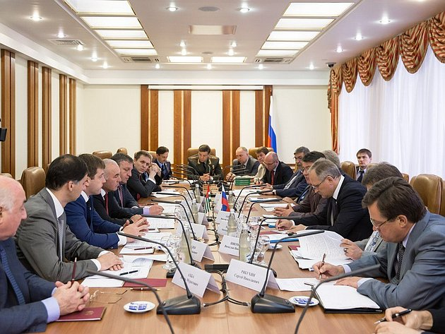 заседание Комиссии по сотрудничеству Совета Федерации Федерального Собрания России и Народного Собрания – Парламента Республики Абхазия