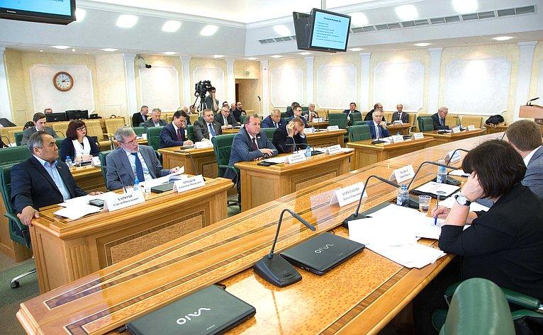Вячеслав Штыров провел заседание Президиума Совета поАрктике иАнтарктике