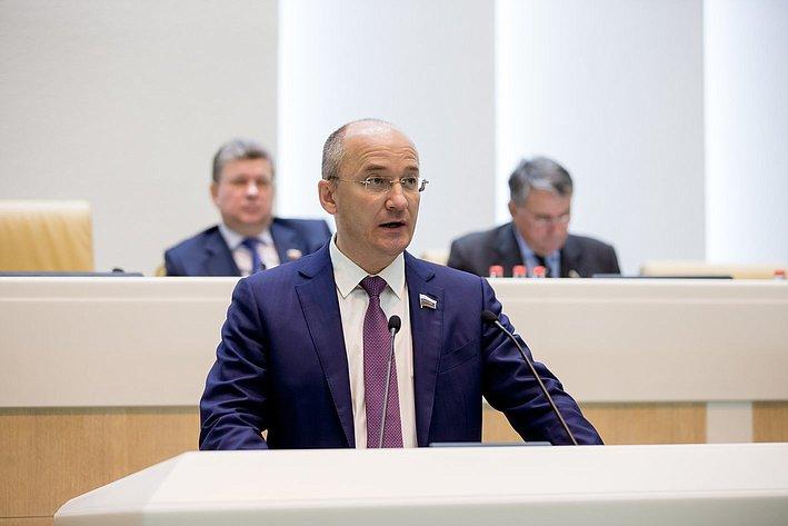 Цепкин 380-е заседание Совета Федерации