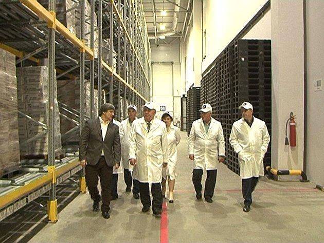 Александр Михайлов посетил фабрику попроизводству кондитерских изделий