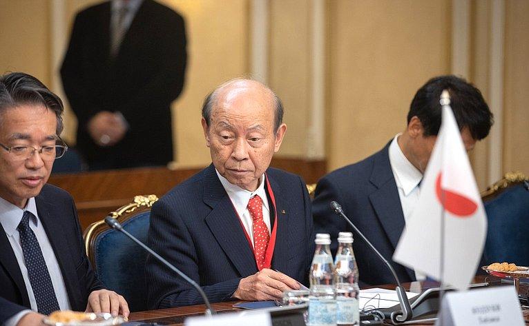 Встреча японских ироссийских губернаторов сПредседателем Совета Федерации Валентиной Матвиенко