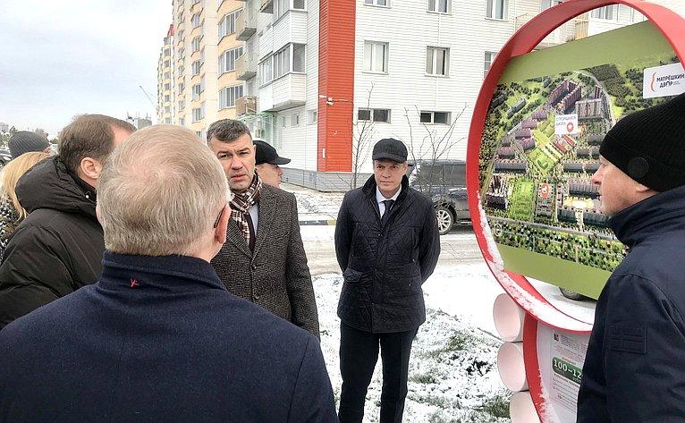 Александр Башкин посетил Новосибирск всоставе Временной комиссии СФ посовершенствованию правового регулирования всфере государственного контроля (надзора) имуниципального контроля вРФ