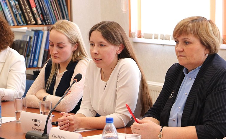 Заместитель Председателя СФ Юрий Воробьев провел онлайн встречу спреподавателями икадетами Образовательного центра «Корабелы Прионежья»