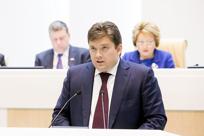 367-е заседание Совета Федерации Журавлев