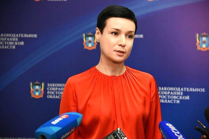 Ирина Рукавишникова вРостовской области
