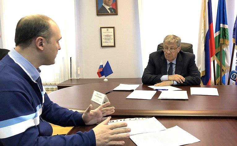 Аркадий Чернецкий провёл приём граждан