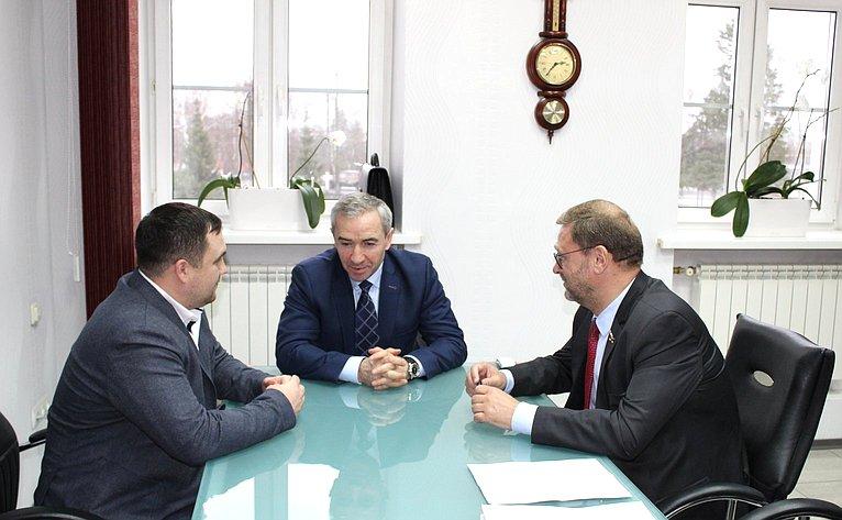 Константин Косачев посетил промышленные предприятия Республики Марий Эл