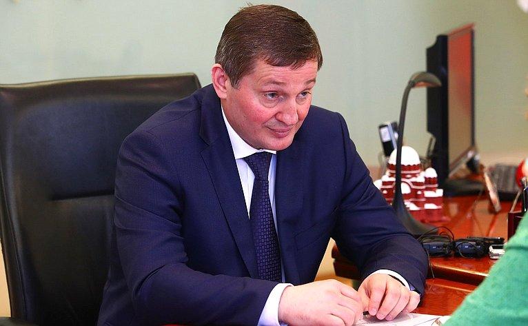 Губернатор Волгоградской области А. Бочаров