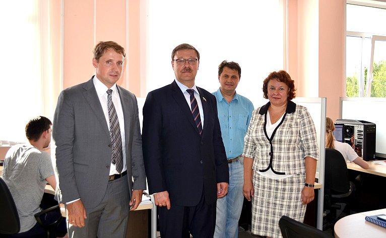 К. Косачев посетил Марий Эл