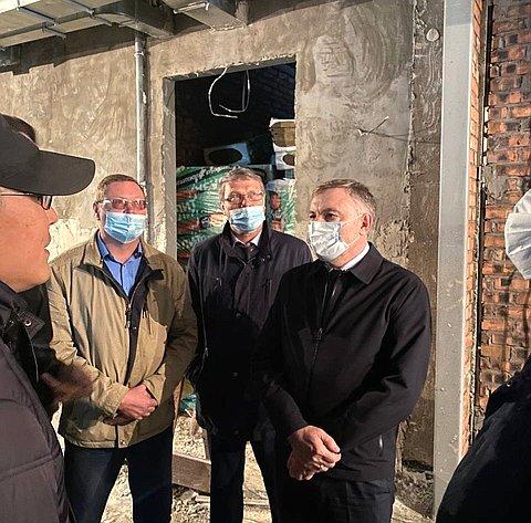 Александр Варфоломеев посетил социальные объекты вселах Республики Бурятия