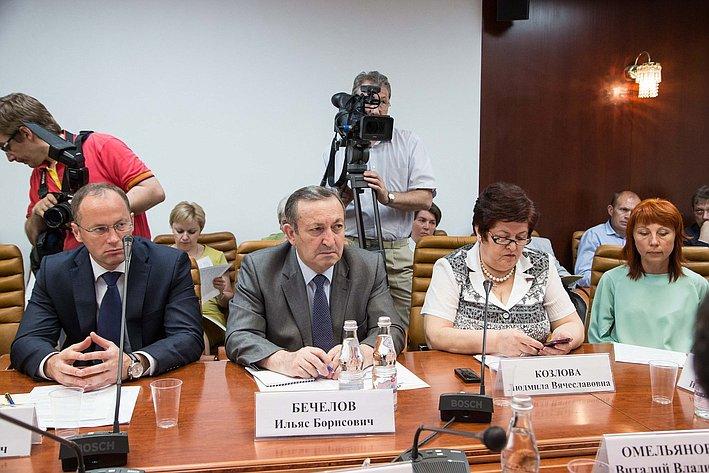 26-05 И. Бечелов Л. Козлова Заседание Комитета СФ по социальной политике 2